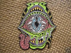 """1 """"Face"""" Pin FREE SHIPPING (Heady Sacred Weed Dab Grateful Dead Trippy Hat Pins)"""