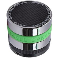 LotFancy Super Bass Portable Rechargeable Mini Hi-Fi Bluetooth Speaker for iPhone, Android Phone, Laptop, Tablet, iPod, Etc. (Green)
