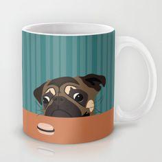 Le pug et le macaron Mug