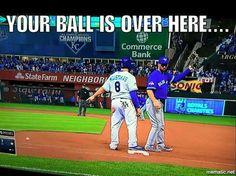 Kansas City Royals One of my best memories! Kc Royals Baseball, Baseball Memes, Baseball Stuff, Kansas City Missouri, Kansas City Royals, Commerce Bank, Eric Hosmer, Win Or Lose