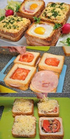 Unusual and delicious sandwiches for breakfast - .- Необычные и вкусные бутерброды к завтраку – … Unusual and delicious sandwiches for breakfast – # sandwiches # delicious # breakfast # and # to - Healthy Sandwiches, Delicious Sandwiches, Breakfast Sandwiches, Bagel Sandwich, Cucumber Sandwiches, Cucumber Rolls, Sandwich Ideas, Dinner Sandwiches, Sandwich Recipes