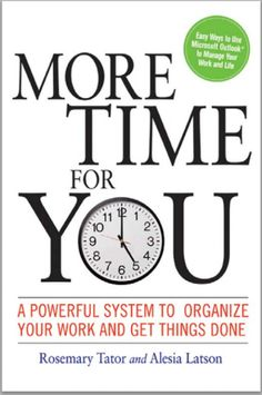 [PDF] More Time for You - A Powerful System to Organize (Digital Book/e-Book) Home Management Binder, Time Management, Project Management, Hours In A Day, How To Improve Relationship, Reading Levels, Book Summaries, Feeling Overwhelmed, You Working
