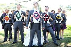 Does anyone have anything out of the ordinary planned for their wedding day? #Groomsmen