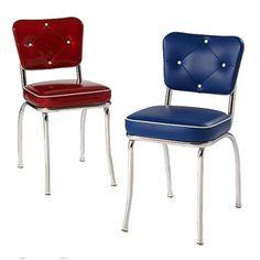 richardson seating retro 1950s v-back diner dining chair in