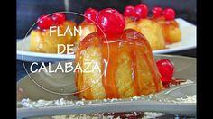 FLAN DE CALABAZA Y CARAMELO | Pumpkin flan | Budino di zucca | Acqua Ros...