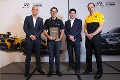 Le da INFINITI a José Pablo Ávalos, la oportunidad única de trabajar en la Fórmula 1™ | Tuningmex.com