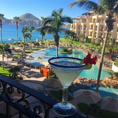 Amazing view with a great cocktail,🌊🍹 plus today we have an incredible deal of the day! 😄 is there a better way to start your stay with us? Thirsty Thursday, Welcome Home, Resort Spa, Beach Resorts, Places Ive Been, Villa, Cocktails, The Incredibles, Luxury