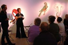 Louise Saxton in Coversation Public, Concert, Surreal Art, Recital, Festivals