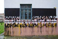 Blaqk - Greek Street Artists - Karditsa (GR) - 04/2014 - |\*/| #blaqk #streetart