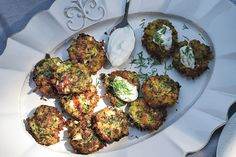 Find the recipe for Zucchini Keftedes with Feta and Dill and other dill recipes at Epicurious.com