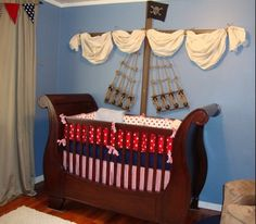 Unique Baby Nursery Decor Pirate Themed For Parker Lots More Pictures Here
