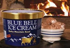 Rocky Mountain Road blue bell ice cream. Best ice cream I've ever had hands down