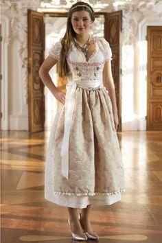 Designer bridal Dirndl Fiona of Melega Trachteria
