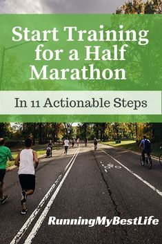 So, you want to run a half marathon? Training for a half marathon is a great decision, but you might not know where to start. Click now to organize your training plan and get on track and start your half marathon training! Marathon Training For Beginners, Half Marathon Training Plan, Running For Beginners, How To Start Running, Marathon Running, How To Run Faster, Road Running, Running Gear, Half Marathon Tips