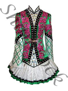 Shamrock Stitchery Irish Dance Solo Dress