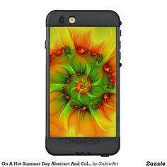 On A Hot Summer Day Abstract And Colorful Fractal LifeProof® NÜÜD® iPhone 6s Plus Case