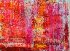 "Saatchi Online Artist Aida Markiw; Painting, ""Strawberry Field"" #art"