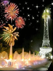 The Eiffel Tower.and fireworks at Kings Island. Happy New Year Wishes, Happy New Year 2019, New Year Greetings, Happy Year, Christmas And New Year, Merry Christmas, Kings Island, July Holidays, Nouvel An