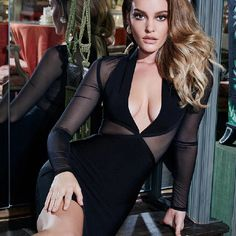 Color : Black Style : Sexy & Club Material : Polyester, Spandex Occasion : Evening Party, Nightclub, Cocktail, Runway The post Sexy Long Sleeve Mesh Evening Party Bodycon Bandage Dress appeared first on Power Day Sale.