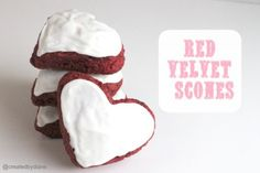 red velvet scone recipe @createdbydiane
