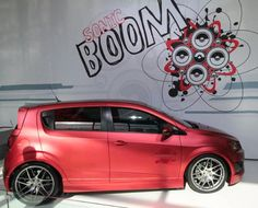 The Chevy Sonic- straight from the 2012 New York Auto Show!!
