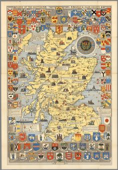 Image result for map of scotland