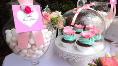 Pink and blue garden party #partyideas #birthdayparty #party