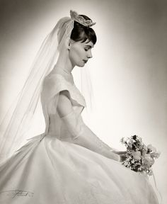 Early 1960's bride by Severo Antonelli (1907-1995)