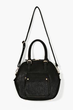 Caterina Bowler Bag in Black