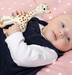 Every baby must have a Sophie the giraffe! available from www.vupbaby.co.uk