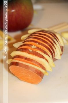 Sweet potato and apple- I am trying this tonight. Yum