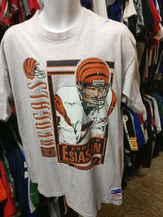 vintagesports Vintage 90s  7 BO...  xl3vintageclothing Now available !!  Boomer EsiasonCincinnati BengalsNflCampaignNfl Football 70b695d07