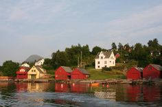 tysnes norway | ... Tysnes Norway Photograph - Summer Cottages Off Tysnes Norway Fine Art