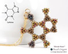 Molecules. base layer and color coded top layer. https://www.etsy.com/listing/124520388/handcrafted-blonde-roast-caffeine?ref=shop_home_active_2