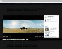 Volkswagen Amarok: The Facebook Flipbook