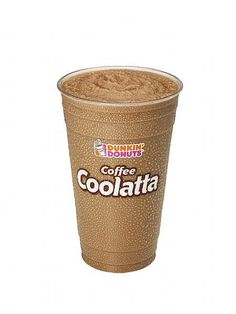 Dunkin Donuts Coffee Coolatta is the ultimate iced coffee. It's not, as some people would have you believe, a coffee milk shake, and it doesn't contain any Coffee Barista, Coffee Menu, Starbucks Coffee, Coffee Drinks, Iced Coffee, Healthy Starbucks, Coffee Cafe, Hot Coffee, Coffee Shop