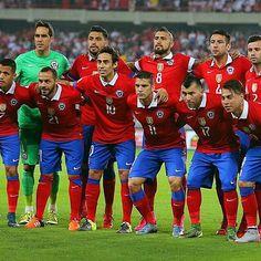 La selección chilenaaaaaaaaa