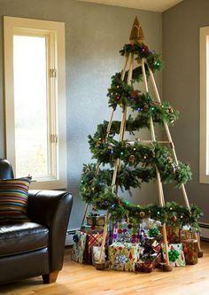 20 alternativas como árbol de Navidad