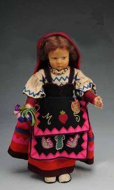 "19"" series 300 lenci doll wearing costume from the Ciociara,Italia region by Kim C65, via Flickr"