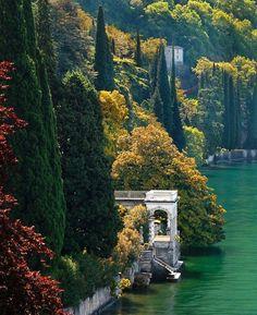 lac de Come, magique …