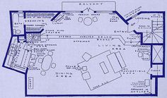 Mary Richards' first home in Minneapolis #FloorPlan