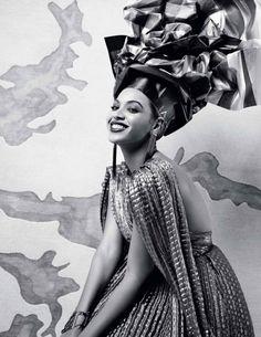 African Queen Beyoncé for L'Officiel | Fashionnews | Zalando UK 2011