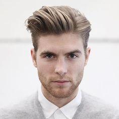 Medium Hair Cuts, Long Hair Cuts, Medium Hair Styles, Long Hair Styles, Side Part Haircut, Side Part Hairstyles, Men's Hairstyles, Popular Mens Hairstyles, Cool Hairstyles For Men