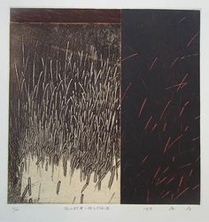 """annsymes: """"Takahiko Hayashi The wind filled with roots etching """""""