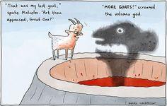 Abbott's goat sacrificing speech.
