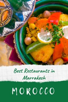 Best restaurants in Marrakech - our tried and tested best places to eat in Marrakech, from glimmering poolside restaurants in the new town to romantic restaurants in Marrakech's old medina streets. There's everything from traditional Moroccan restaurants in Marrakech to international cuisine and some amazing roof terraces to dine on #marrakech #restaurants #morocco #eat #dinner #cafe #lunch #travel #dining