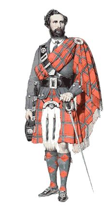 scottish highland dress, the kilt