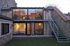 Réhabilitation d'une échoppe double rue Poyenne à Bordeaux | Architecte Aquitaine | 33 | FABRE/deMARIEN architectes