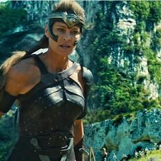 Robin Wright as General Antiope in the 2017 Wonder Woman film