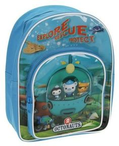 "Octonauts School Bag Rucksack Backpack by Linenideas. $44.99. 12"" long x 9"" wide. standalone"